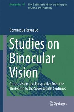 Abbildung von Raynaud | Studies on Binocular Vision | 1. Auflage | 2016 | beck-shop.de