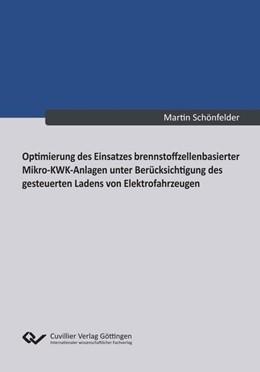 Abbildung von Schönfelder | Optimierung des Einsatzes brennstoffzellenbasierter Mikro-KWK-Anlagen unter Berücksichtigung des gesteuerten Ladens von Elektrofahrzeugen | 2013