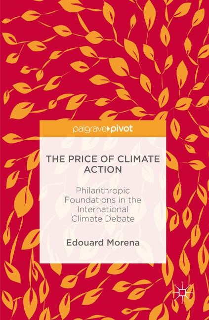 The Price of Climate Action | Morena | 1st ed. 2016, 2016 | Buch (Cover)