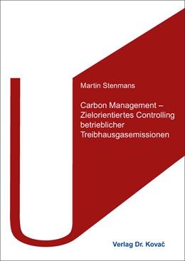 Abbildung von Stenmans | Carbon Management – Zielorientiertes Controlling betrieblicher Treibhausgasemissionen | 2016 | 147