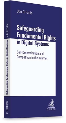 Abbildung von Di Fabio | Safeguarding Fundamental Rights in Digital Systems | 1. Auflage | 2016 | beck-shop.de