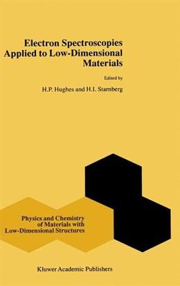 Abbildung von Hughes / Starnberg | Electron Spectroscopies Applied to Low-Dimensional Structures | 2000
