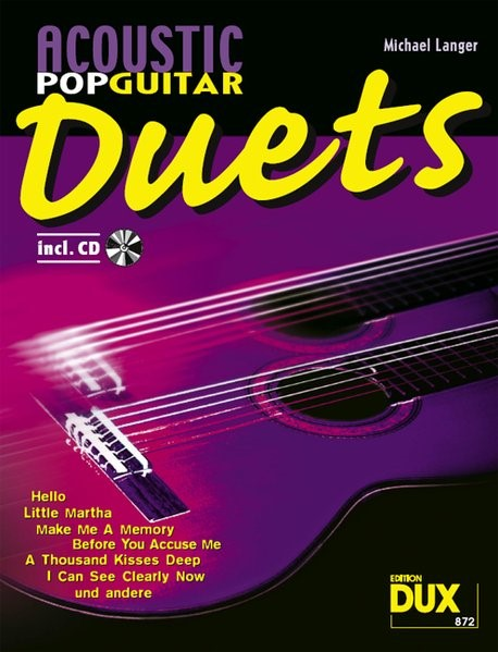 Acoustic Pop Guitar Duets, 2007 | Buch (Cover)