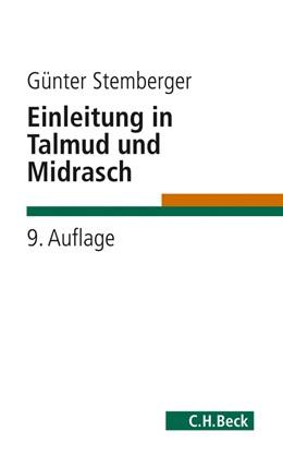 Abbildung von Stemberger | Einleitung in Talmud und Midrasch | 9. Auflage | 2011 | beck-shop.de