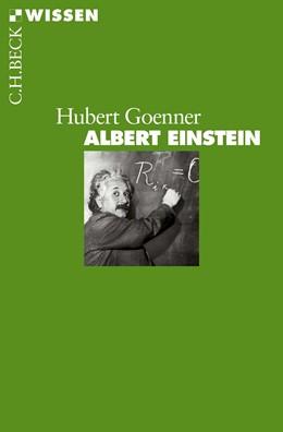 Abbildung von Goenner | Albert Einstein | 1. Auflage | 2015 | 2839 | beck-shop.de