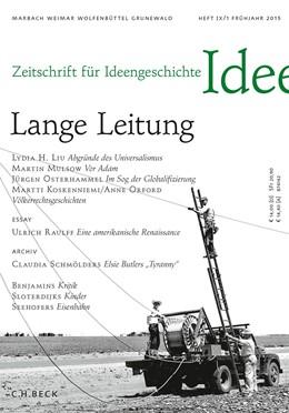 Abbildung von Kemmerer / Mulsow | Zeitschrift für Ideengeschichte Heft IX/1 Frühjahr 2015 | 1. Auflage | 2015 | beck-shop.de