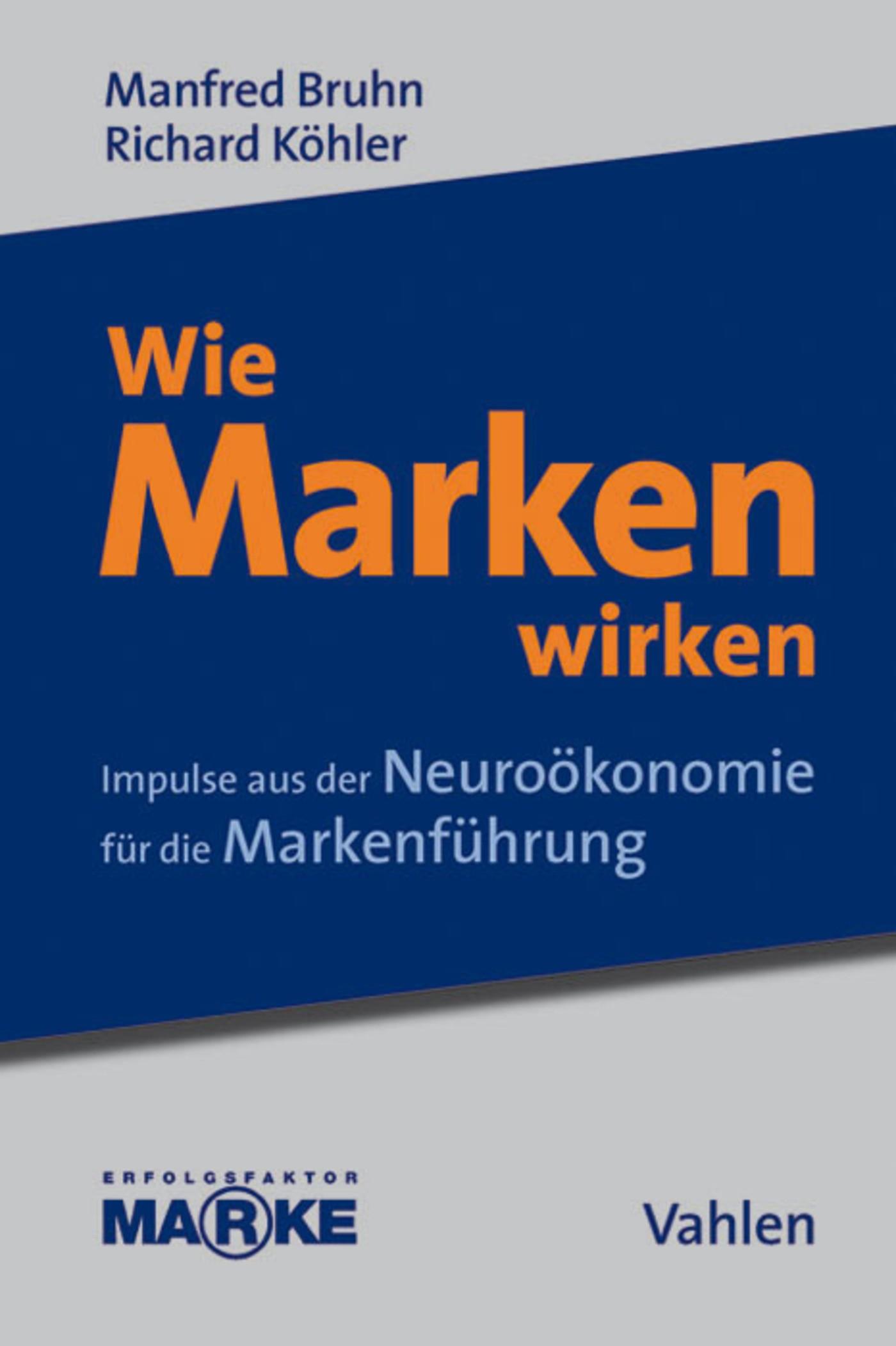 Wie Marken wirken | Bruhn / Köhler / G.E.M Gesellschaft zur Erforschung des Markenwesens e.V. | eBook (Cover)