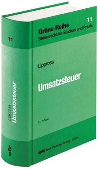 Umsatzsteuer | Lippross | 24. Auflage, 2017 | Buch (Cover)
