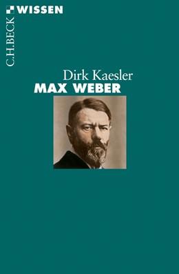 Abbildung von Kaesler | Max Weber | 2011 | 2726