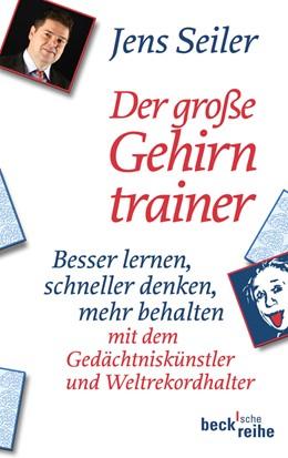 Abbildung von Seiler   Der große Gehirntrainer   2011   Besser lernen, schneller denke...   1976