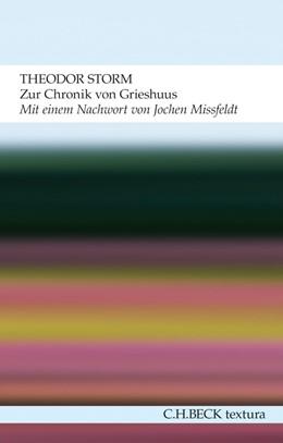 Abbildung von Storm   Zur Chronik von Grieshuus   2013