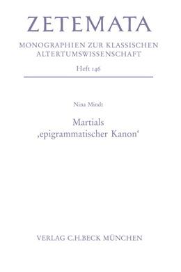 Abbildung von Mindt | Martials 'epigrammatischer Kanon' | 1. Auflage | 2013 | beck-shop.de