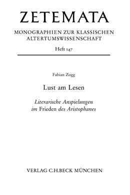 Abbildung von Zogg | Lust am Lesen | 2014 | Literarische Anspielungen im F...