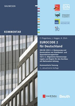 Abbildung von Deutscher Beton- und Bautechnik-Verein e. V. | Eurocode 2 für Deutschland. Kommentierte Fassung | 2. Auflage | 2016 | beck-shop.de