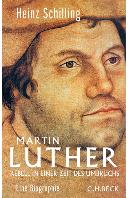 Cover: Heinz Schilling, Martin Luther