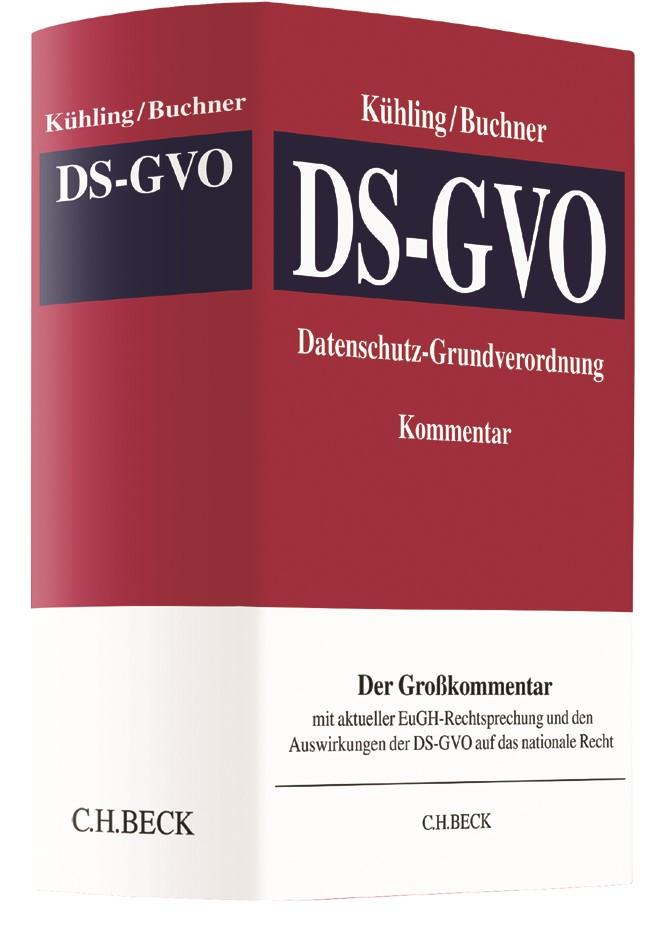 Datenschutz-Grundverordnung: DS-GVO | Kühling / Buchner, 2017 | Buch (Cover)