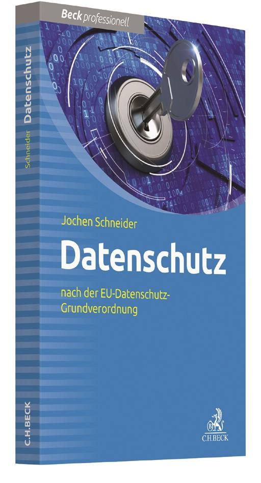 Datenschutz | Schneider | Buch (Cover)