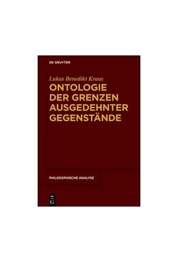 Abbildung von Kraus | Ontologie der Grenzen ausgedehnter Gegenstände | 2016 | 72