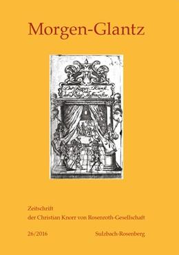 Abbildung von Jahn / Scheitler   Morgen-Glantz – 26/2016   1. Auflage   2016   26   beck-shop.de