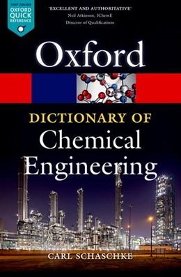Abbildung von Schaschke | A Dictionary of Chemical Engineering | 2014