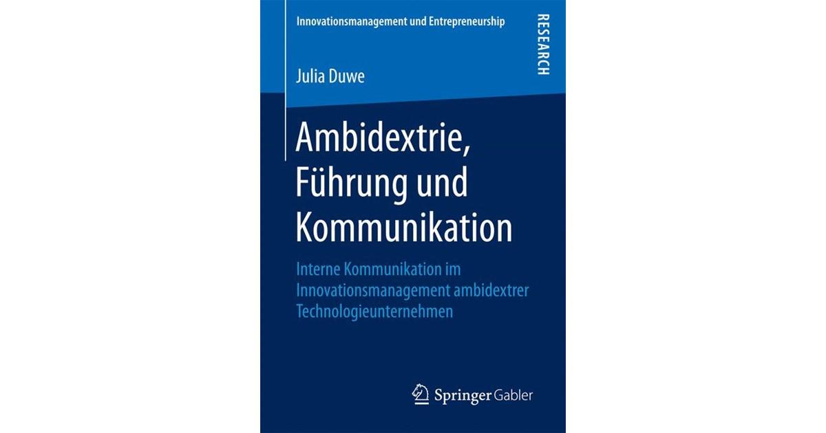 Ambidextrie, Führung und Kommunikation | Duwe, 2016 | Buch | beck ...