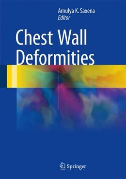 Abbildung von Saxena   Chest Wall Deformities   1st ed. 2017   2017
