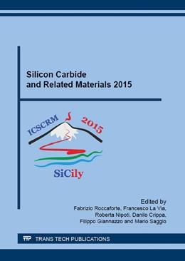 Abbildung von Roccaforte / La Via / Nipoti / Crippa / Giannazzo / Saggio | Silicon Carbide and Related Materials 2015 | 2016 | ICSCRM 2015