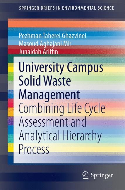 University Campus Solid Waste Management | Ghazvinei / Mir / Darvishi | 1st ed. 2017, 2017 | Buch (Cover)