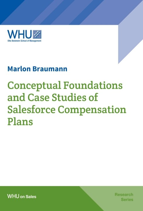 Conceptual Foundations and Case Studies of Salesforce Compensation Plans | Braumann, 2016 | Buch (Cover)