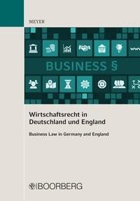 Abbildung von Meyer | Wirtschaftsrecht in Deutschland und England | 2016