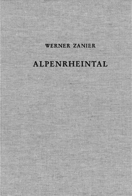 Abbildung von Zanier, Werner   Das Alpenrheintal in den Jahrzehnten um Christi Geburt   2007   Forschungsstand zu den histori...   59