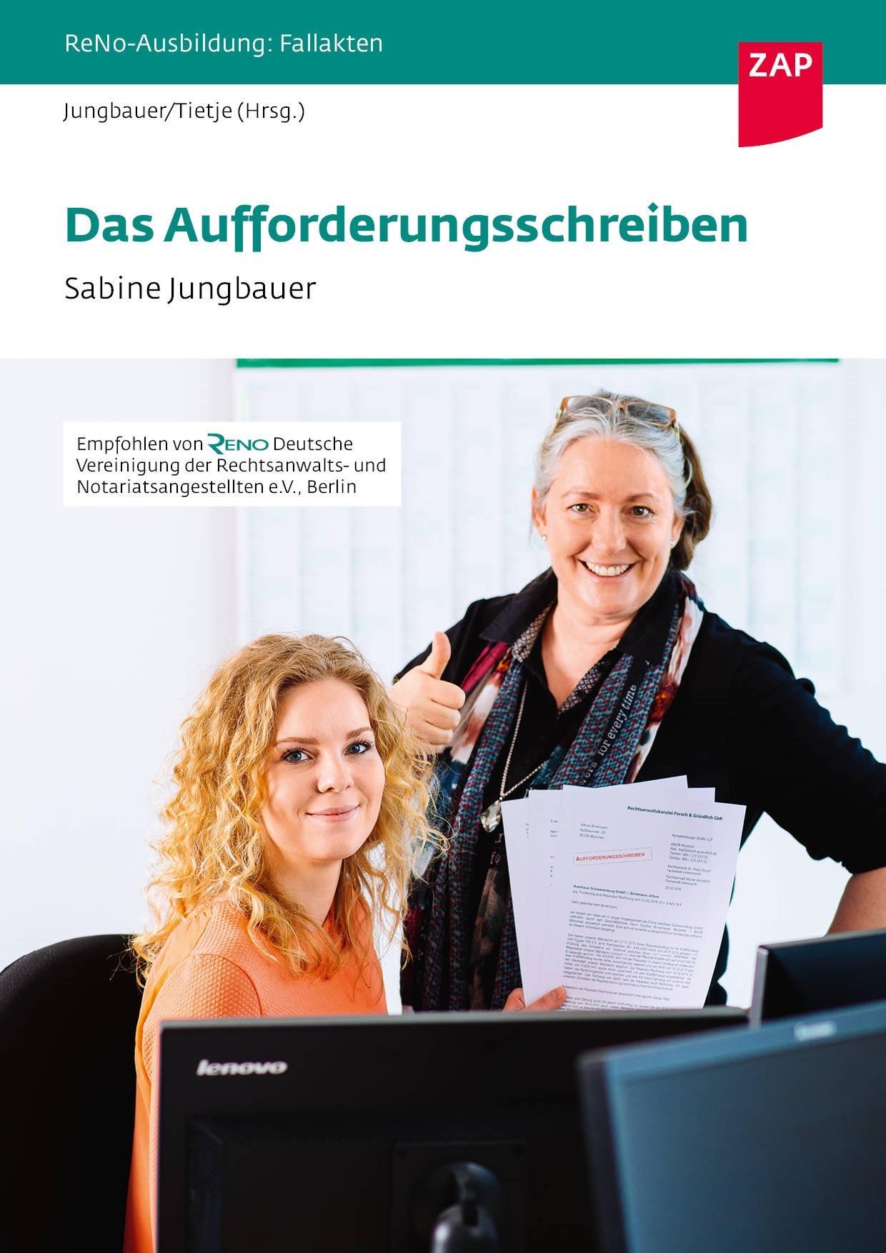 Das Aufforderungsschreiben | Jungbauer / Tietje (Hrsg.), 2017 | Buch (Cover)