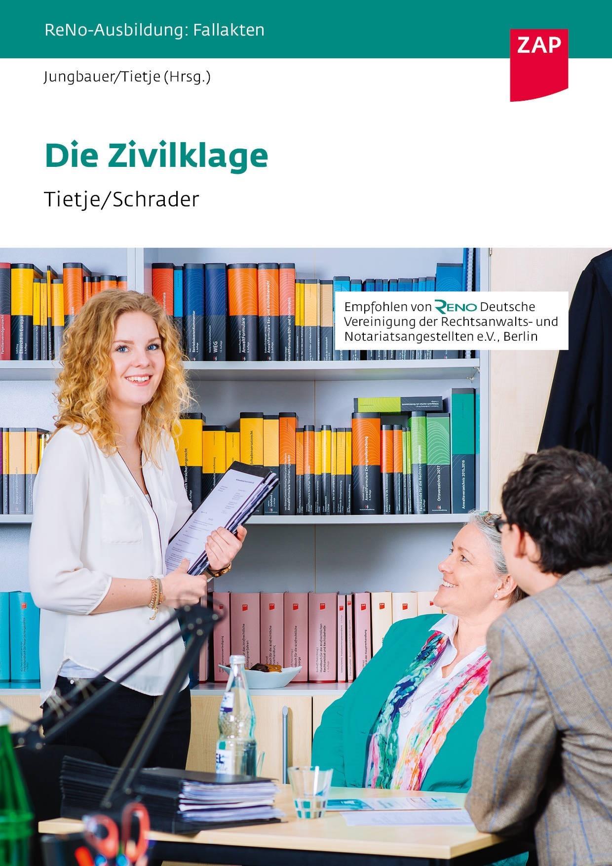 Die Zivilklage | Jungbauer / Tietje (Hrsg.), 2017 | Buch (Cover)
