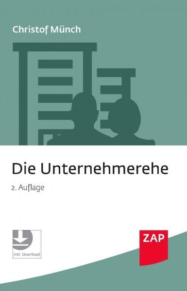 Die Unternehmerehe | Münch | 2. Auflage, 2019 | Buch (Cover)