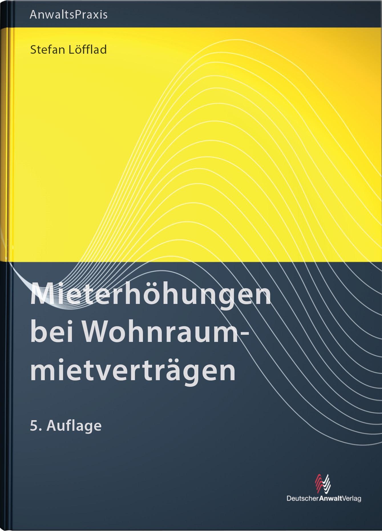Mieterhöhungen bei Wohnraummietverträgen | Löfflad | 5. Auflage, 2018 | Buch (Cover)