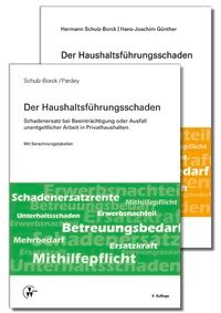 Der Haushaltsführungsschaden • Kombipaket | Schulz-Borck / Pardey / Günther | Buch (Cover)