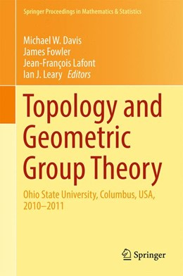 Abbildung von Davis / Fowler | Topology and Geometric Group Theory | 1. Auflage | 2016 | 184 | beck-shop.de