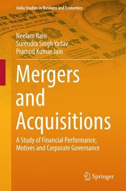Abbildung von Rani / Yadav | Mergers and Acquisitions | 1. Auflage | 2016 | beck-shop.de