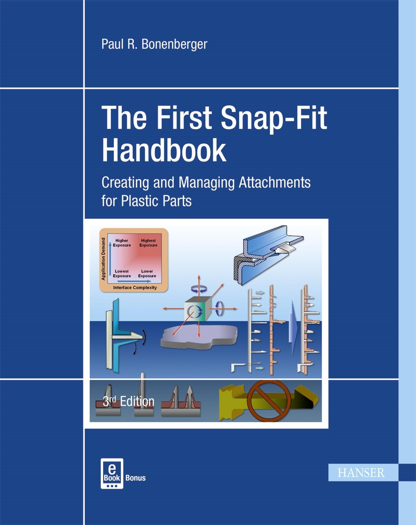 The First Snap-Fit Handbook | Bonenberger | 3. Auflage., 2016 | Buch (Cover)