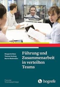 Abbildung von Boos / Hardwig / Riethmüller | Führung und Zusammenarbeit in verteilten Teams | 2016