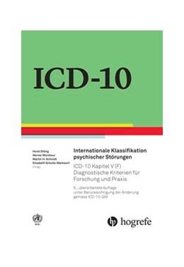 Abbildung von Internationale Klassifikation psychischer Störungen | 6. Auflage | 2016 | beck-shop.de