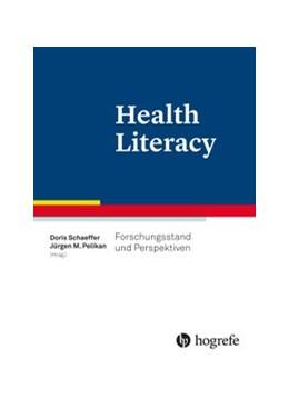 Abbildung von Schaeffer / Pelikan   Health Literacy   2016   Forschungsstand und Perspektiv...
