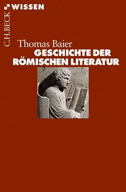Abbildung von Baier | Geschichte der römischen Literatur | 2016 | 2446