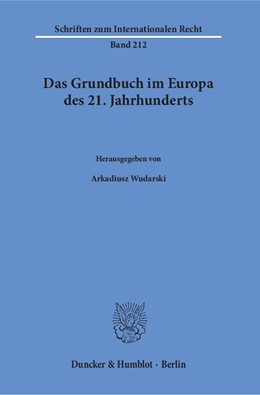 Abbildung von Wudarski | Das Grundbuch im Europa des 21. Jahrhunderts | 1. Auflage | 2016