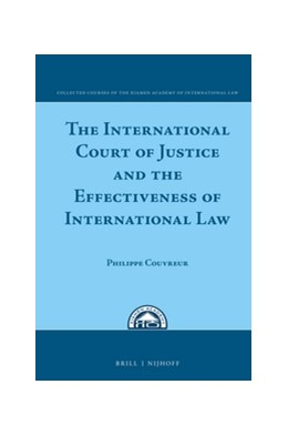 Abbildung von Couvreur | The International Court of Justice and the Effectiveness of International Law | 2016 | 9