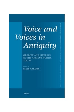 Abbildung von Slater | Voice and Voices in Antiquity | 2016 | Orality and Literacy in the An... | 396