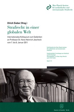 Abbildung von Sieber | Strafrecht in einer globalen Welt | 1. Auflage | 2016 | 24 | beck-shop.de