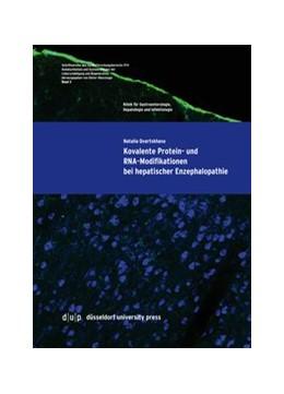 Abbildung von Qvartskhava | Kovalente Protein- und RNA-Modifikationen bei hepatischer Enzephalopathie | 1. Auflage | 2016 | 3 | beck-shop.de