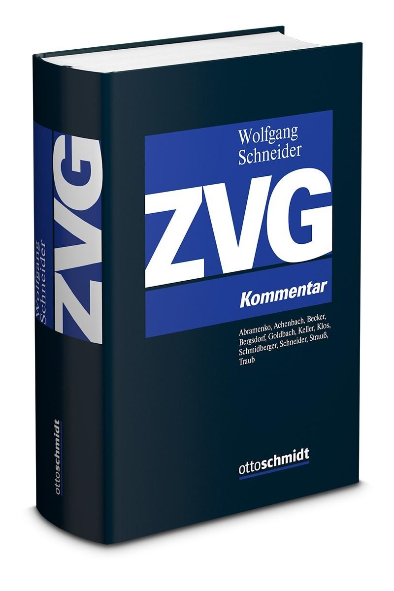 ZVG | Schneider (Hrsg.), 2019 | Buch (Cover)