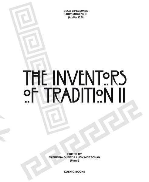 The Inventors of Tradition II | Duffy / McEachan, 2016 | Buch (Cover)